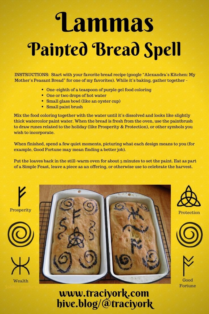 Lammas Painted Bread February 2nd 2021