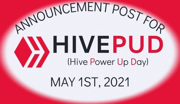 Announcement HivePUD May 1 2021
