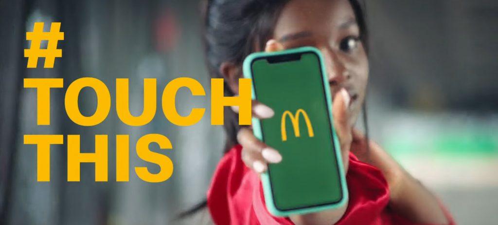 (Can't) #TouchThis: TRACK wirbt mit Welthit von MC Hammer für McDonald's App - TRACK