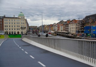 Bike highways in Copenhagen