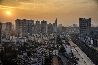 Climbing rooftops in Nanning
