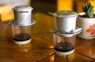Vietnamese Coffee on Cat Ba