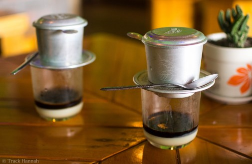 Vietnamese Coffee on Cat Ba