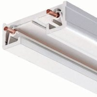 Juno Lighting R6WH Trac-Lites Surface Trac, 68-Inch, White