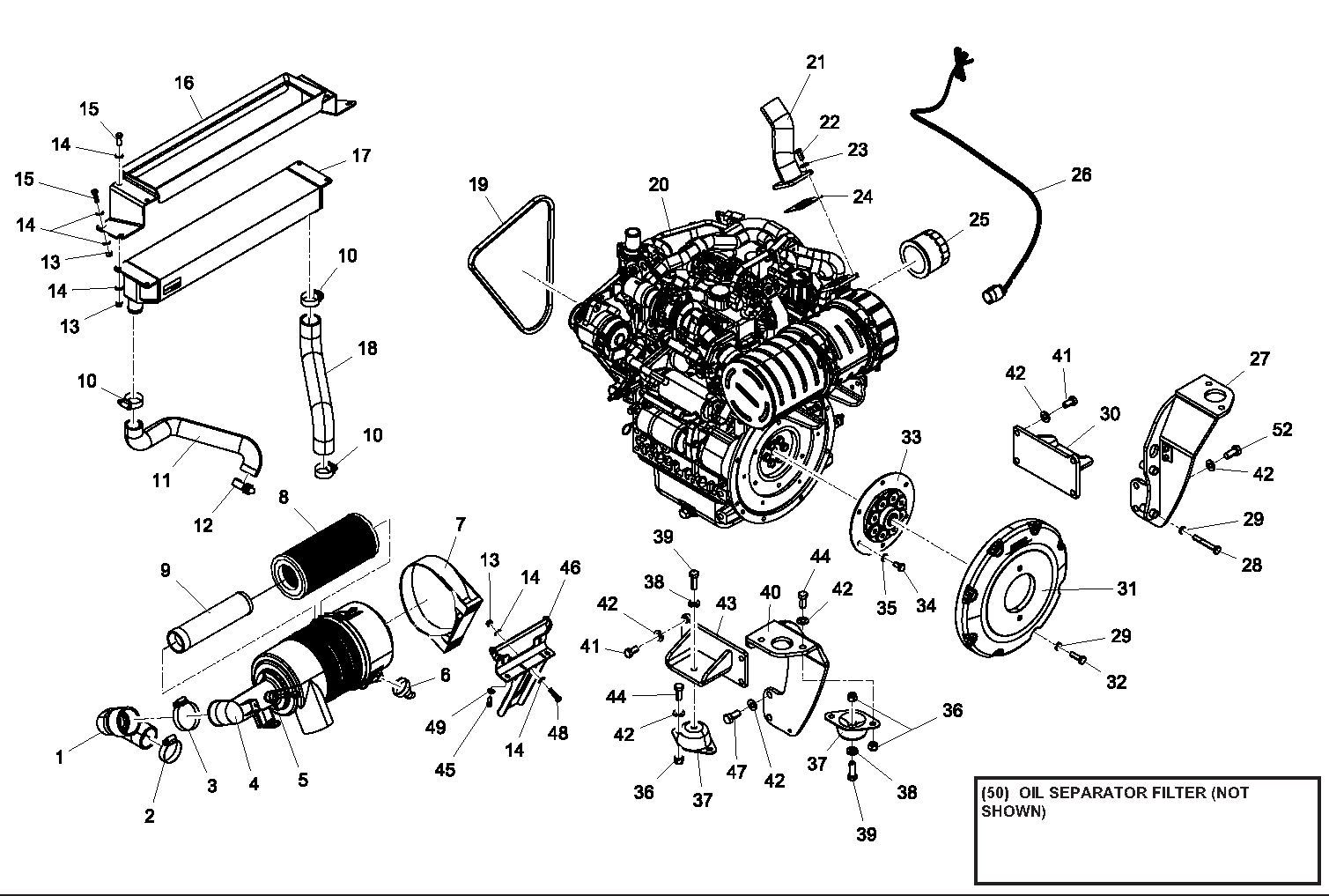 ASV RT40 OEM Parts Diagrams