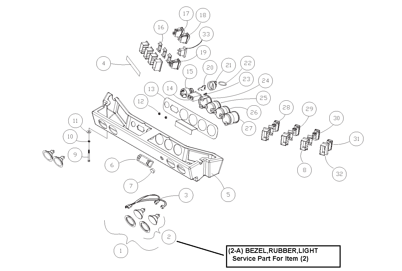 ASV RT50 OEM Parts Diagrams