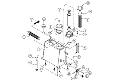 ASV RT30 OEM Parts Diagrams