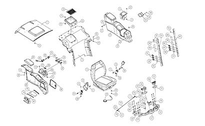 ASV PT80 OEM Parts Diagrams