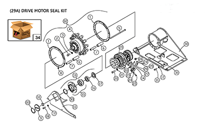 ASV PT100 Forestry OEM Parts Diagrams