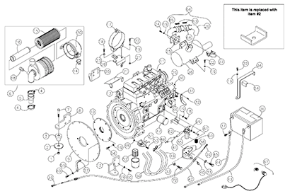 Terex PT50 OEM Parts Diagrams