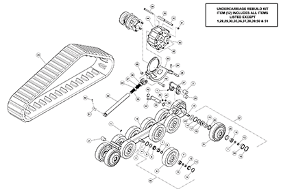 Terex PT30 OEM Parts Diagrams