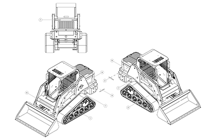 Terex PT60 OEM Parts Diagrams