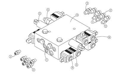Terex PT80 OEM Parts Diagrams