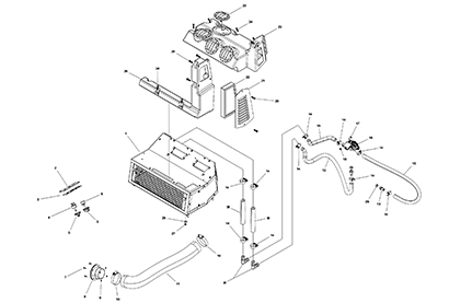 Terex PT110 OEM Parts Diagrams