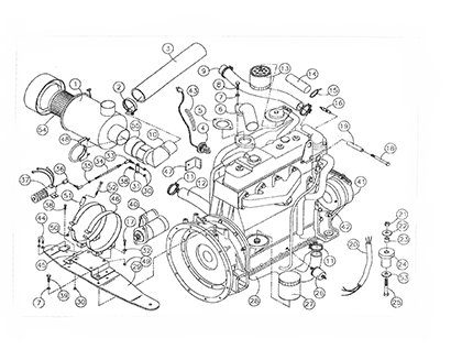 ASV 2800 HPD Track Truck OEM Parts Diagrams