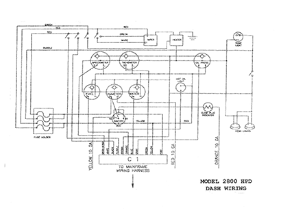 ASV 2800 HPT Track Truck OEM Parts Diagrams