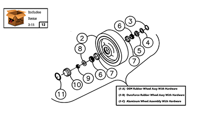 Cat 257B MTL OEM Undercarriage Parts Diagrams