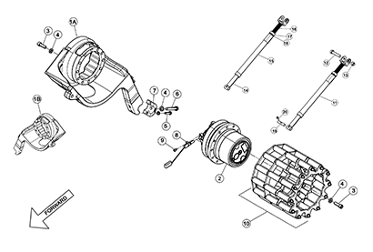 Cat 277D MTL OEM Undercarriage Parts Diagrams