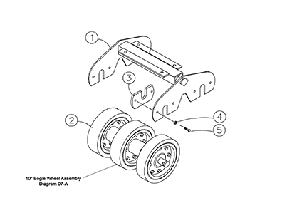 Cat 277B MTL OEM Undercarriage Parts Diagrams