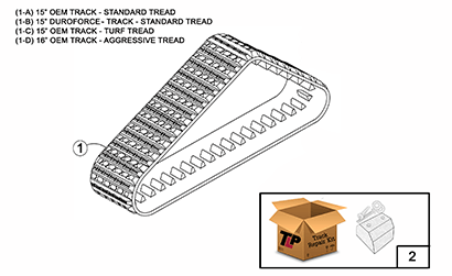 Cat 247B MTL OEM Undercarriage Parts Diagrams