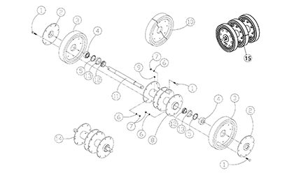 Terex PT100 OEM Parts Diagrams