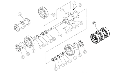 ASV 2800 OEM Parts Diagrams