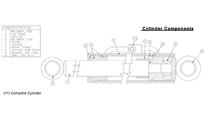 ASV 2810 OEM Parts Diagrams