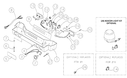 ASV RC60 OEM Parts Diagrams