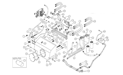 ASV RCV OEM Parts Diagrams