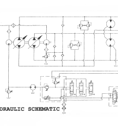 asv 2800hpd track truck e4 hydraulic schematic serial number range all [ 3300 x 2550 Pixel ]