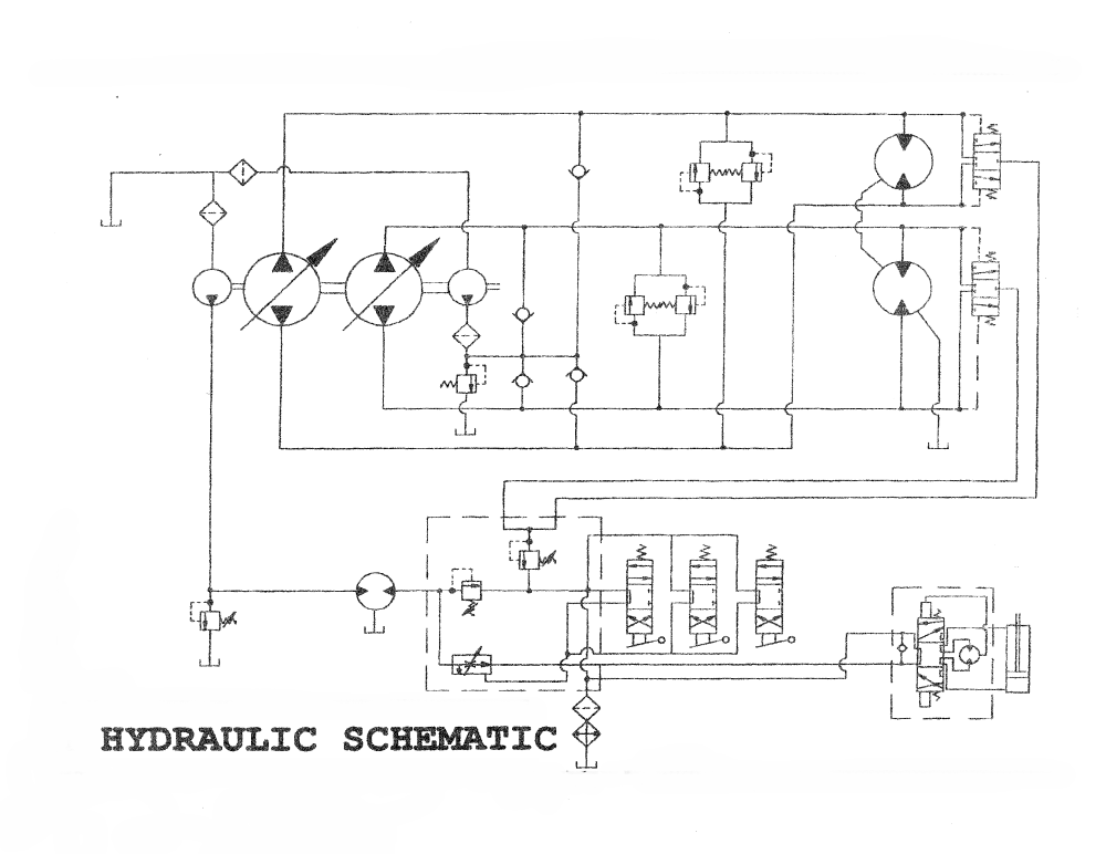 medium resolution of asv 2800hpd track truck e4 hydraulic schematic serial number range all