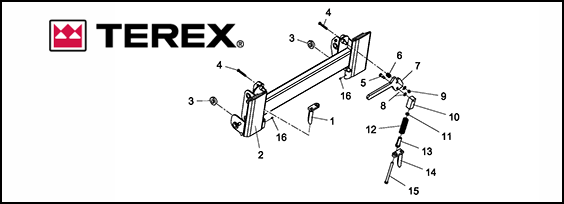 Terex PT30 Posi-Track Loader Replacement and OEM Rubber