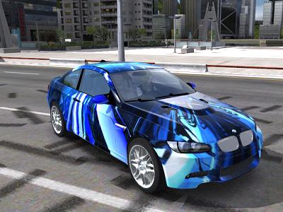 Wallpaper Predator 3d Trackmania Carpark 2d Skins Bmw M3 E92 C4d Custom Blue