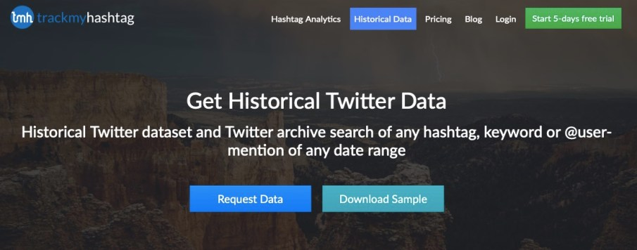 Download historical Twitter data