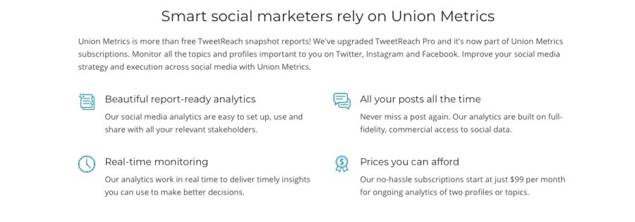 tweet reach Twitter tracking and monitoring