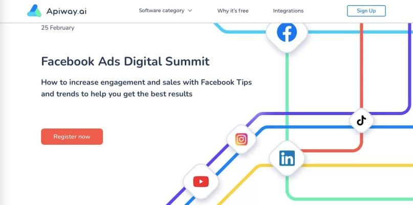 Facebook Ads Digital summit 2021 Apiway
