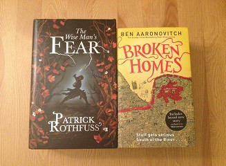 Rothfuss and Aaronovitch