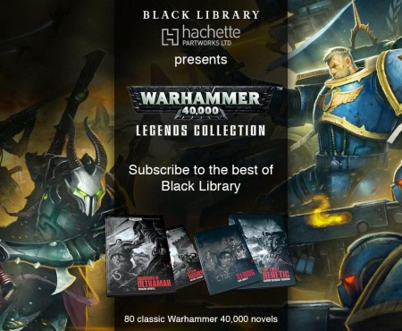 WIN a Warhammer 40,000 Legends subscription
