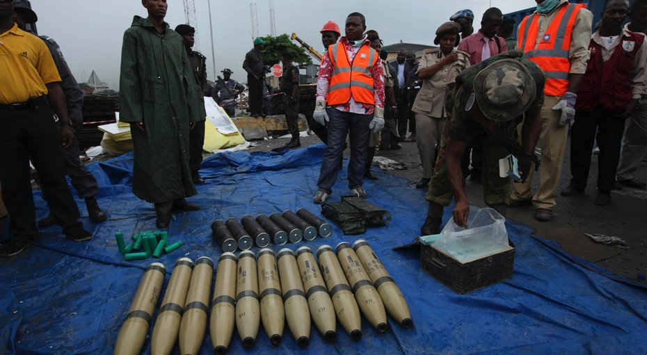 Image result for Nigeria seizes container from iran
