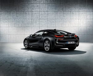 The exclusive BMW i8 Protonic Frozen Black Edition