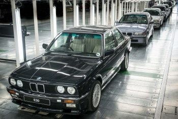 Bidding farewell to the BMW 3 Series at BMW Group Plant Rosslyn