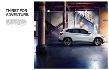 BMW X1 LCI Brochure | PDF Download | ZA-2017
