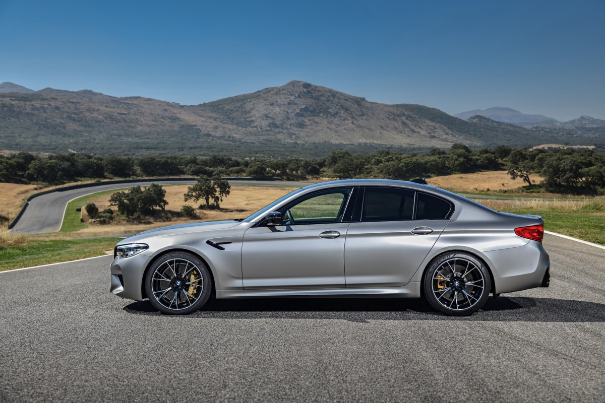 The new BMW M5 Competition 6
