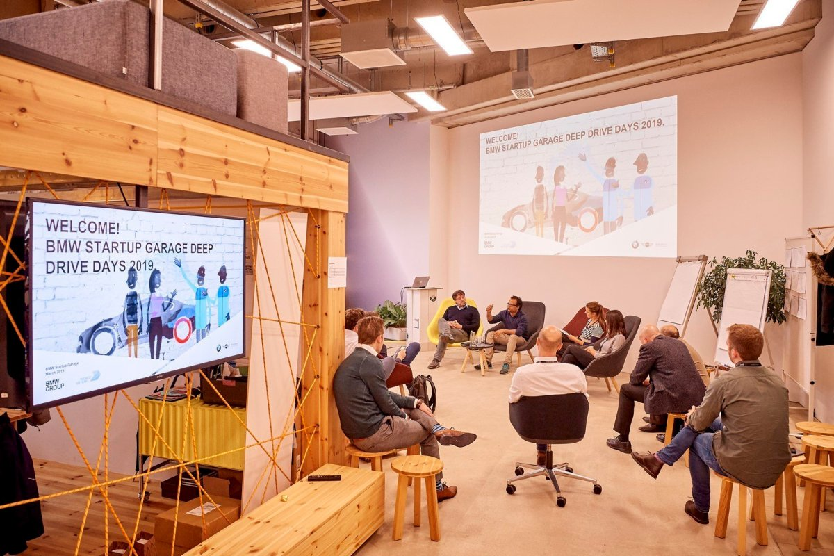 """""""We strive to bring the world's best startups into our programme"""" BMW Startup Garage 6"""
