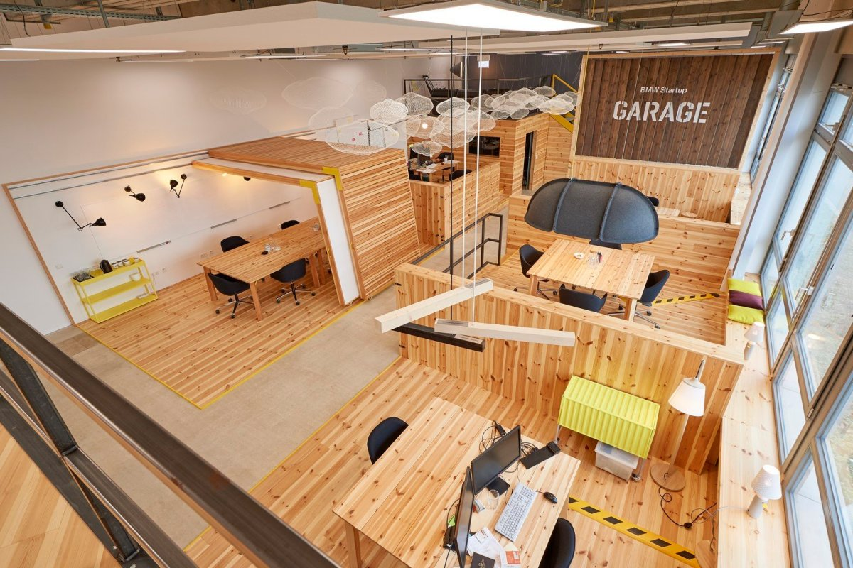 """""""We strive to bring the world's best startups into our programme"""" BMW Startup Garage 1"""