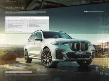 2019 BMW X7 Brochure (UK version)