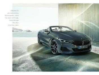 BMW 8 Series Convertible Brochure