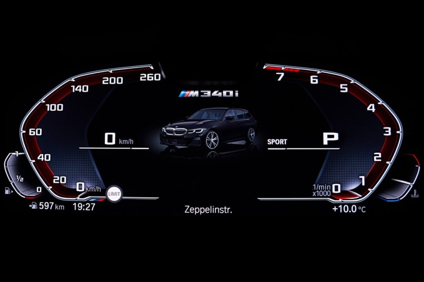 The New BMW M340i xDrive Touring Interior