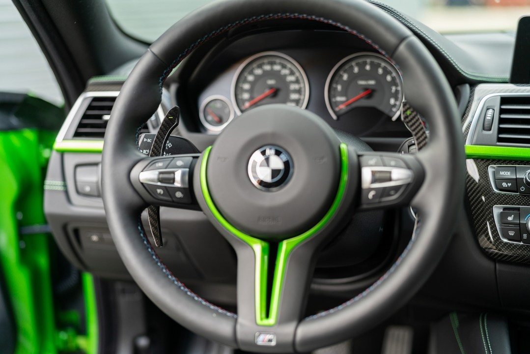 Carbon Fibre BMW Paddle Shifters For BMW G Series 11