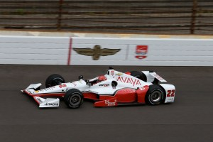 The Team Penske of Simon Pagenaud in the Team Chevy trim we've seen up to this afternoon.  (Photo Courtesy of IndyCar)